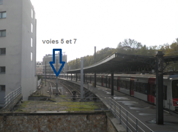 Vue depuis la rue Jean-Claude Arnould
