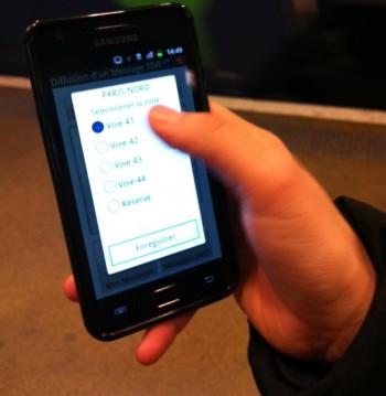 Sonorisation mobile RER B