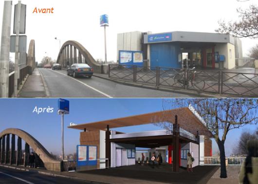 Travaux Blanc-Mesnil RER B