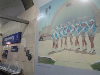 Exposition Luxembourg RER B