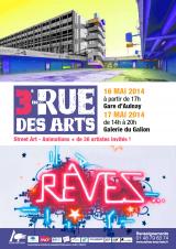 Rue des Arts RER B Aulnay-sous-Bois