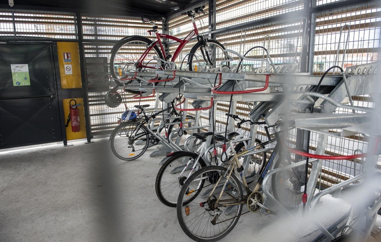 Ouverture d un espace v ligo en gare du bourget - Comment ranger des velos dans un garage ...