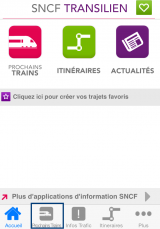 Application SNCF