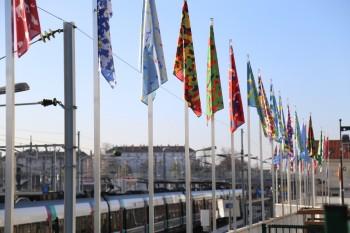 RER B Gare du Bourget COP21