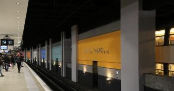 RER B Gare du Nord COP21