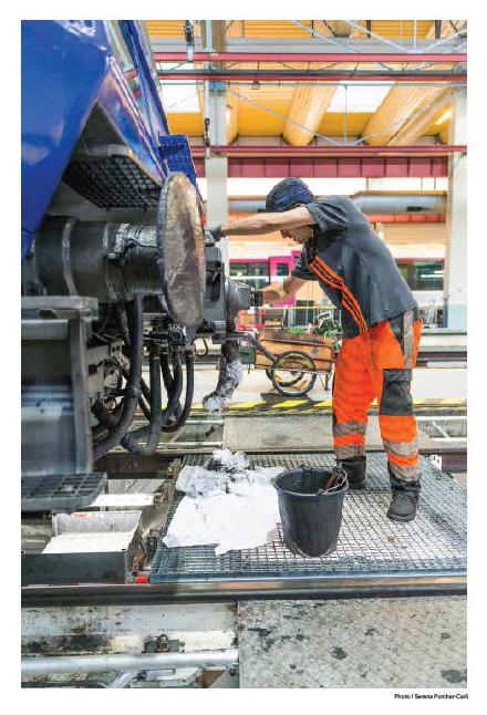 Nouveaux ateliers du technicentre SNCF de Paris Nord, à Villetaneuse.