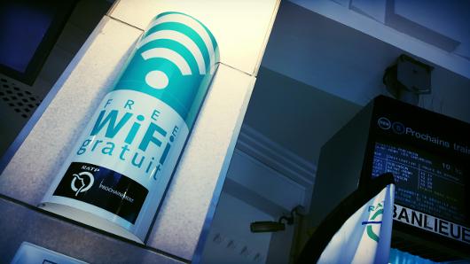 Borne WIFI à Cité Universitaire