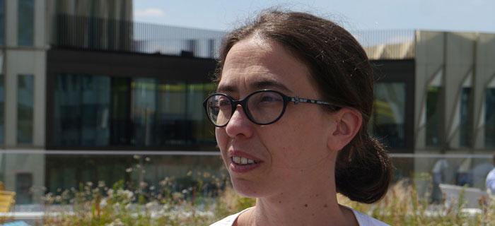 Marie Adam, directrice du RER B